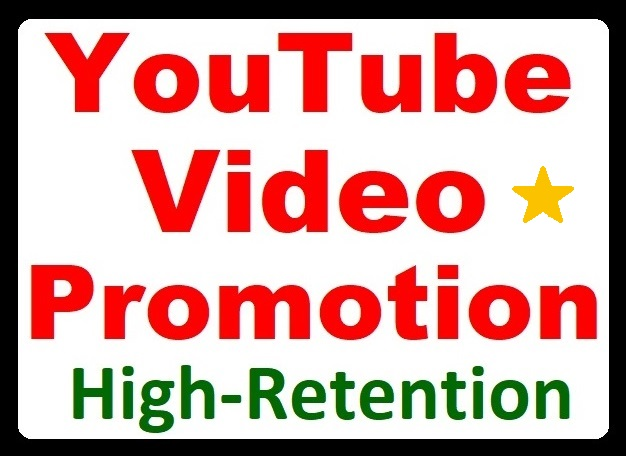 YouTube Video Organic Promotion and Marketing