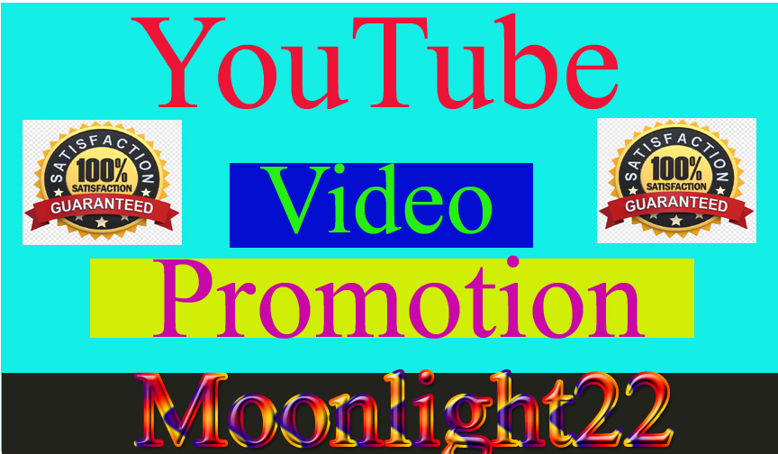 YouTube Video Promotion Social Media Marketing Instant start