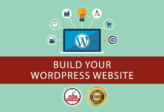 create a responsive wordpress site 48 hours