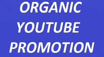 Organic YouTube video promotion real audience