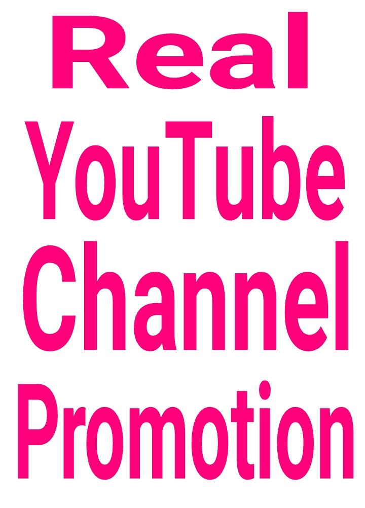 YouTube promotion via real users active and permanent with fast delivery within 2-6hours