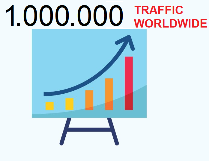1,000,000 Traffic Real Organic Google Rank Seo For Website Blog Url