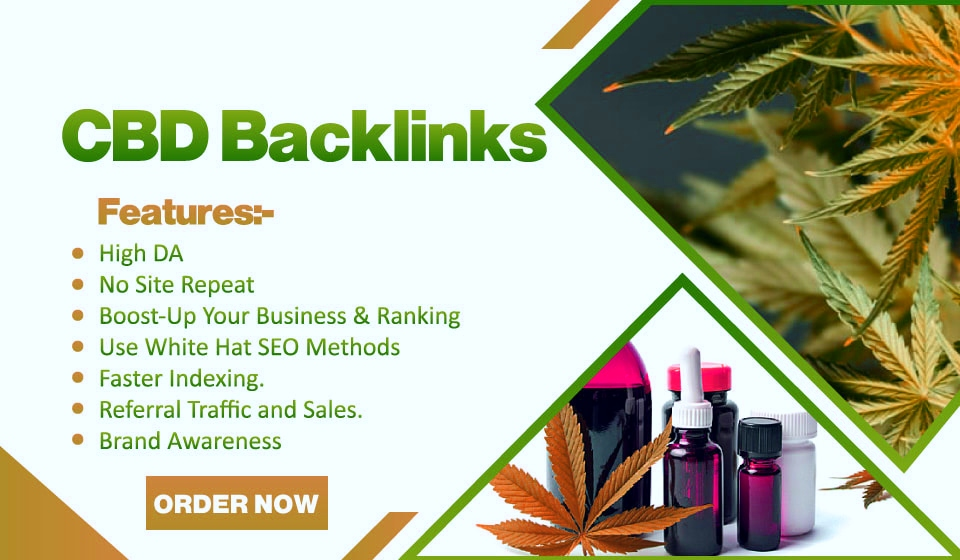 build 30 cbd links,  backlinks on cbd guest post sites SEO