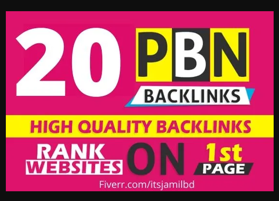 20 High Quality Permanent HomePage Dofollow PBN Links