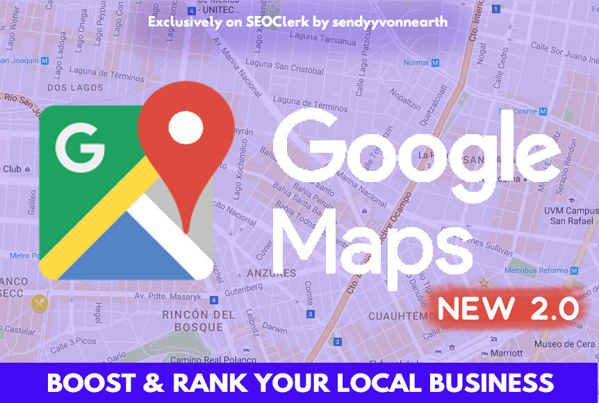 Google Maps 1500 Bookmark Help Local Business Ranking