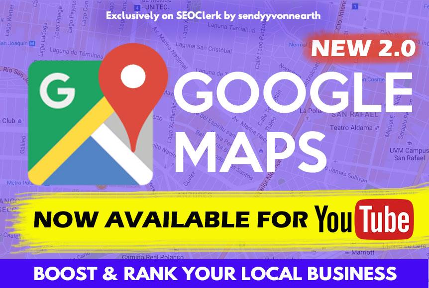 Google Maps 1500 Bookmark Help Local Business Ranking