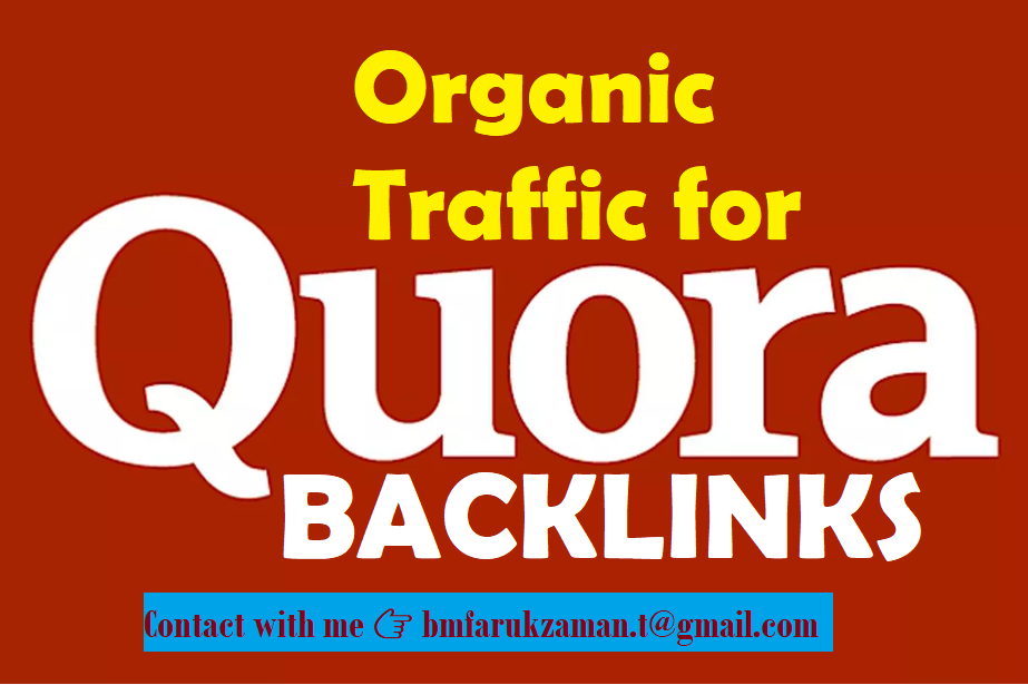 10 High Quality backlinks Niche Relevant Quora Answers