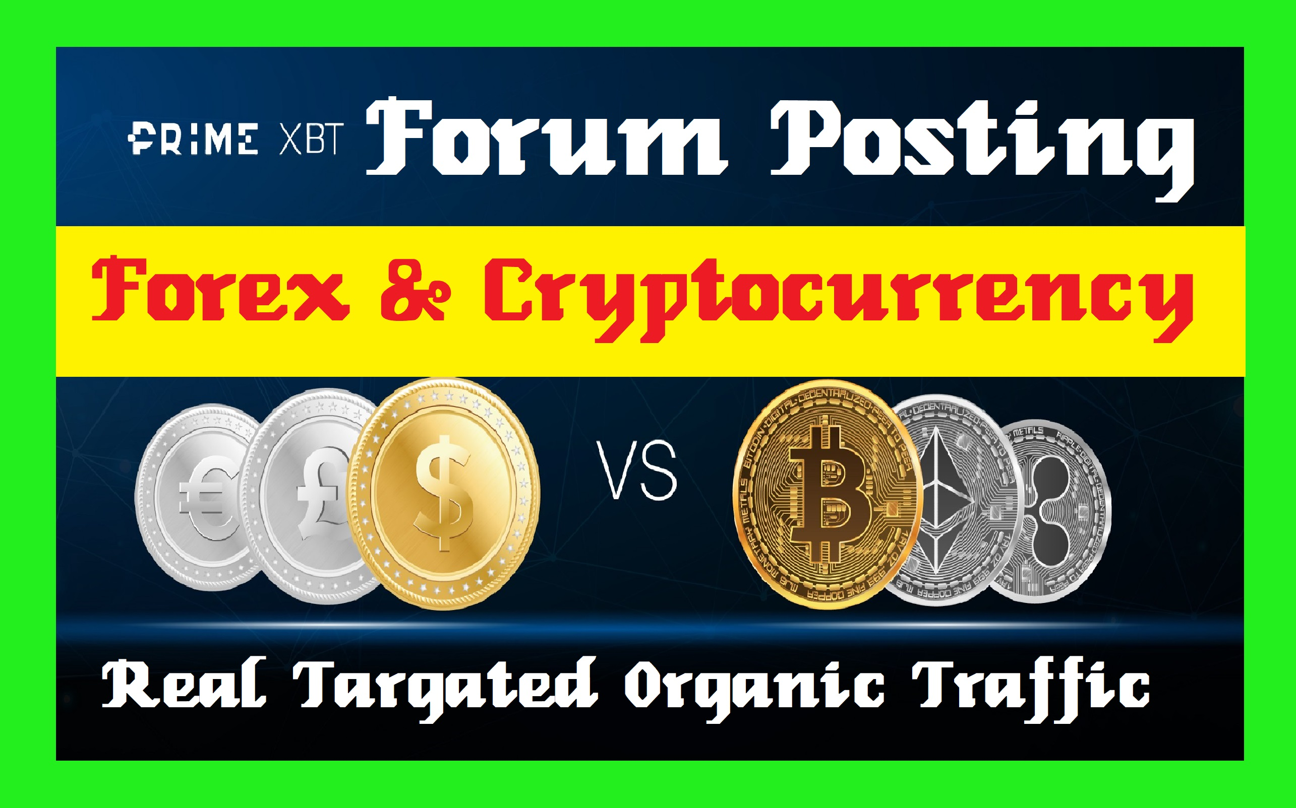 25 Forum Posting Backlinks, Forex And Cryptocurrency Related Topic Post Reply