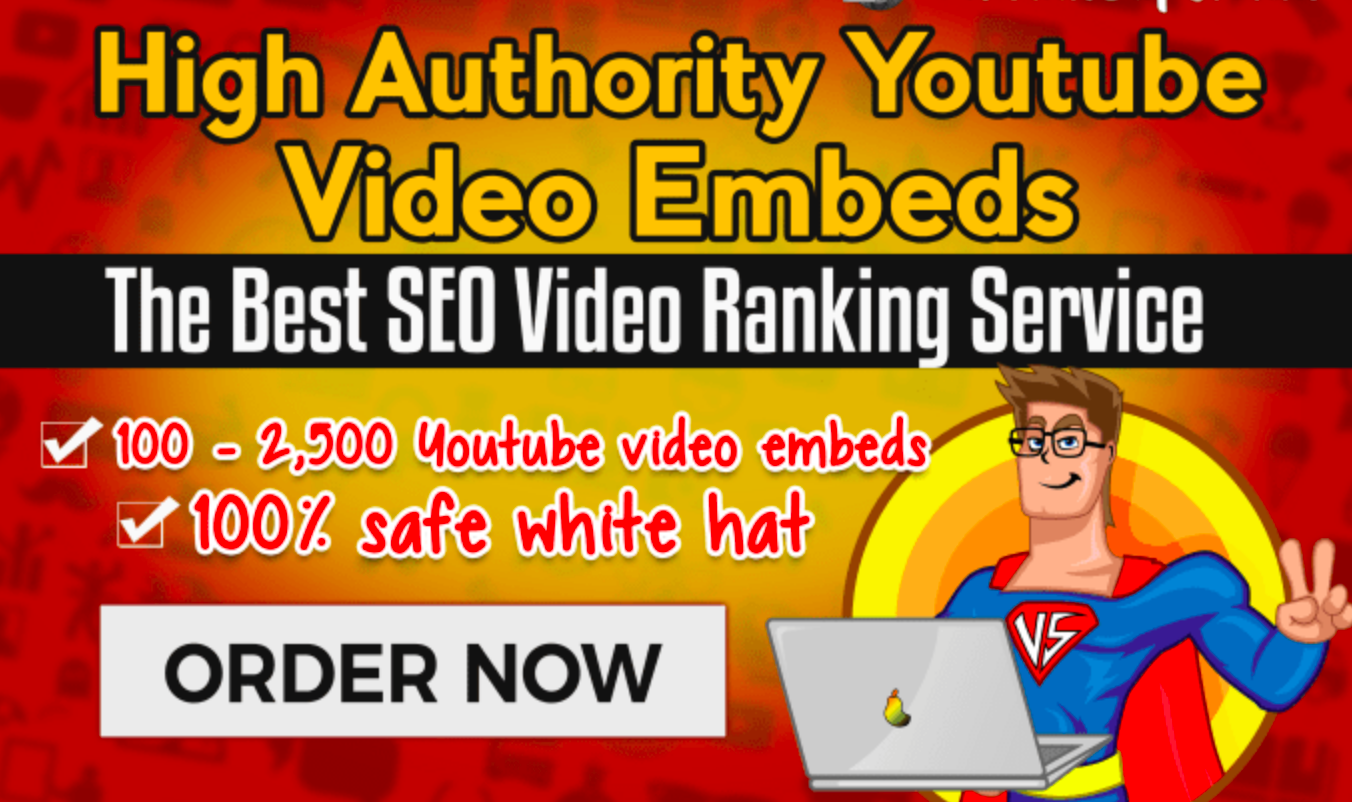 embed your 100 youtube video in top web 2.0 websites with the best seo video ranking