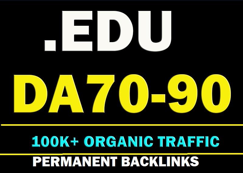 Write & publish 3 Quality. Edu Guest Post DA70 TO 90 site