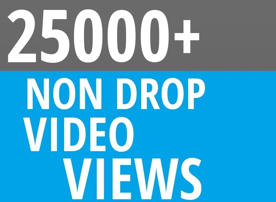 Add Fast 25000+ High Quality Social Video Views Fast and Stable Lifetime