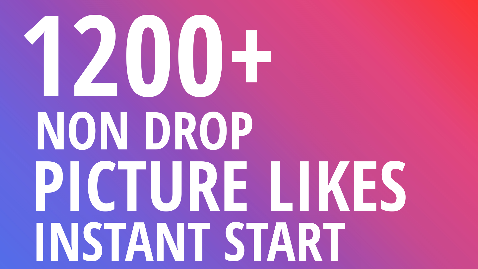 Instant 1200+ Picture OR Video HQ Promotion with Organic Method