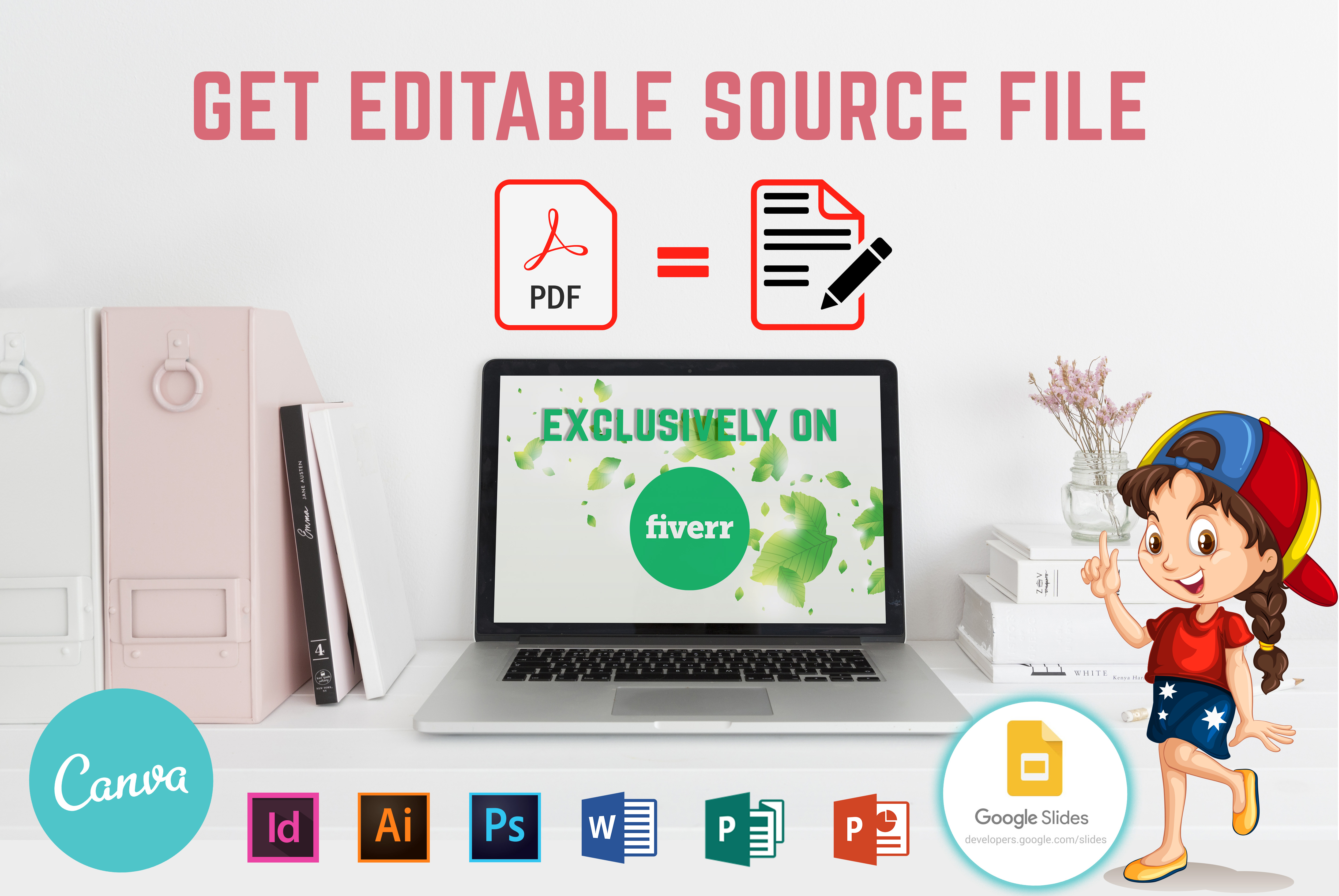 I will redesign your PDF in Canva