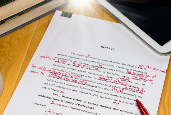I Will Proofread Your Blog Post Up to 500 Words