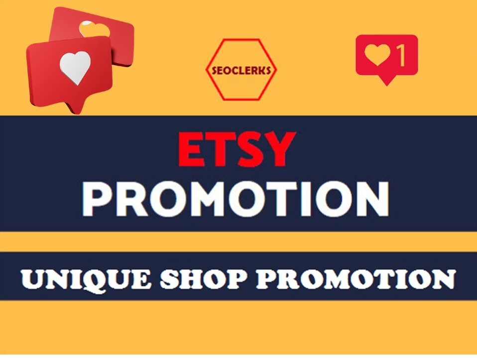 Etsy Shop Promotion Full Pack Fast Delivery Within 12-24 Hours