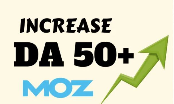 I will increase moz domain authority increase moz da 40 plus
