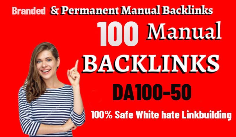 UNIQUE 100 Manually 90+DA PR10-2/EDU/Social Bookmark/Wiki Backlinks skyrocket your Google Rank