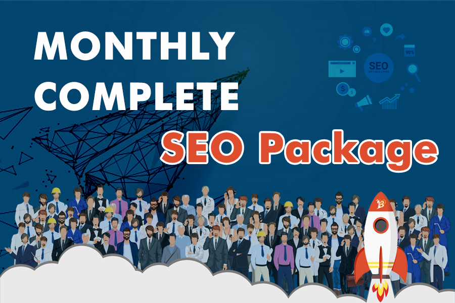 Whitehat SEO Monthly Package service For Google Top Ranking