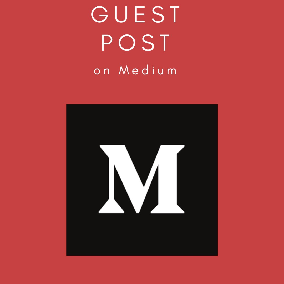 I will do a Guest Post on Medium