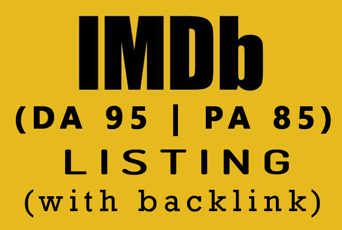 IMDb Profile Listing with backlink