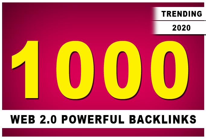I will do 1000 contextual dofollow seo backlinks for google ranking