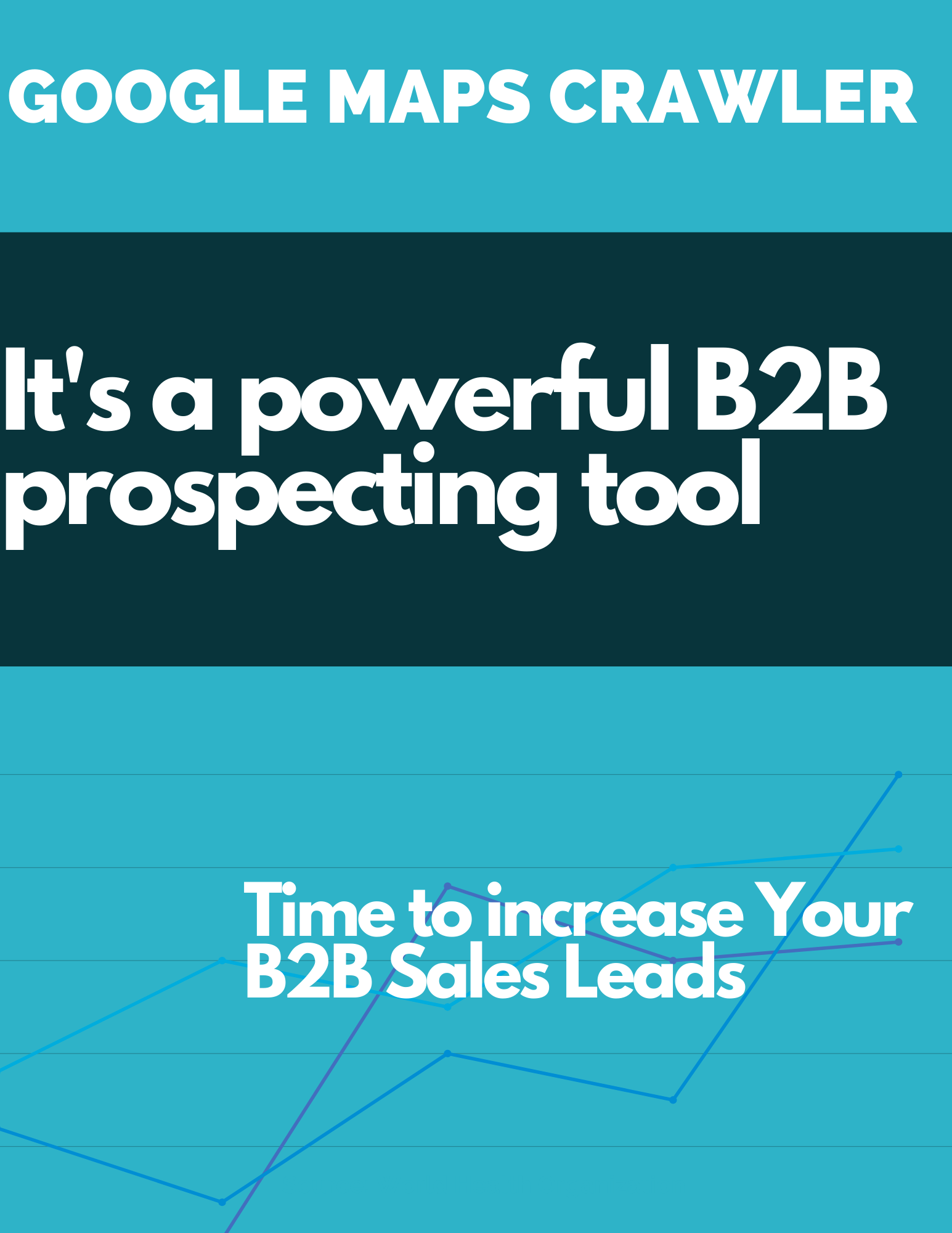 Google Maps Crawler increase your b2b leads sales