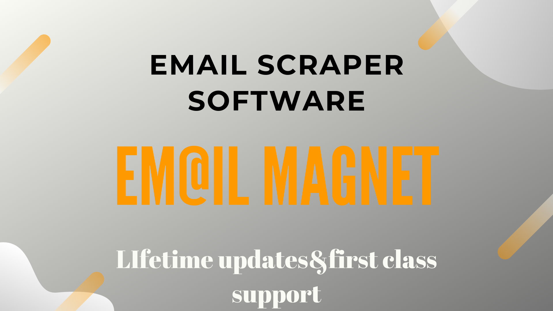 Email magnet: Scrape thousands of emails in matter of minutes