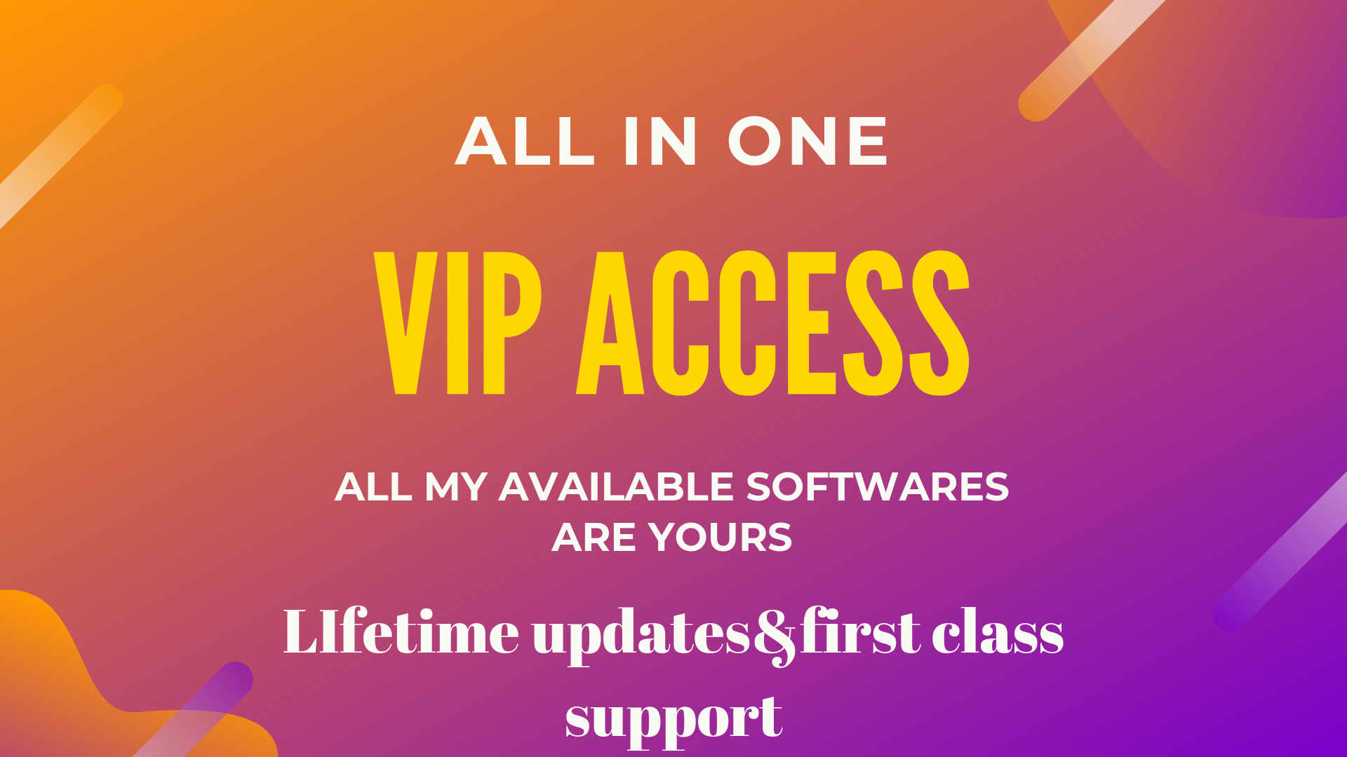 ALL in one Vip acees to all Digital marketing softwares