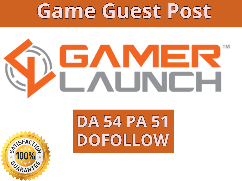 do seo guest post on gamelaunch game blog
