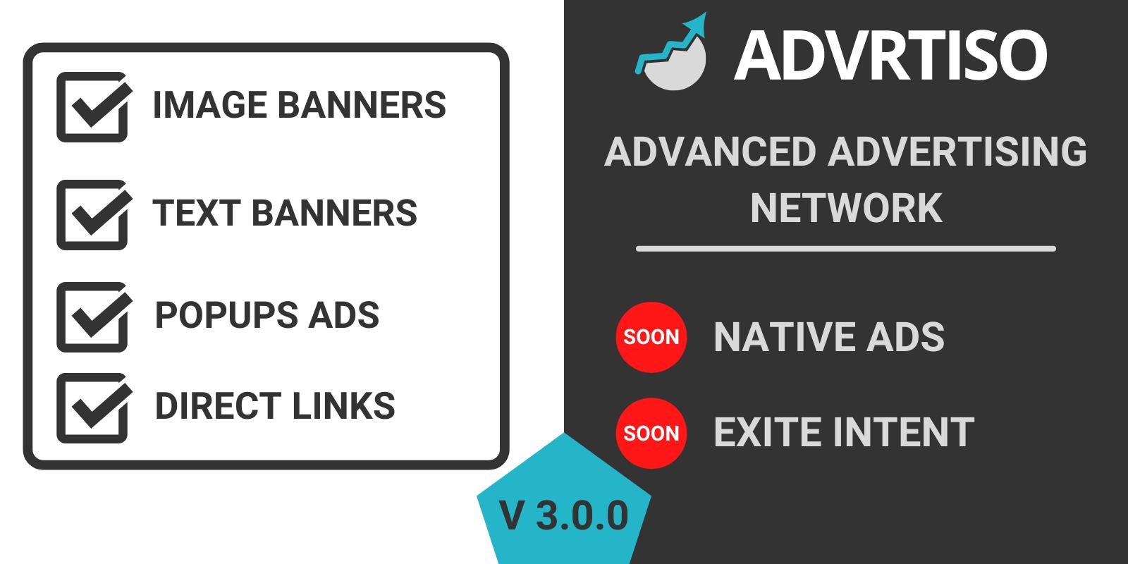 I will develop a custom advertising network website
