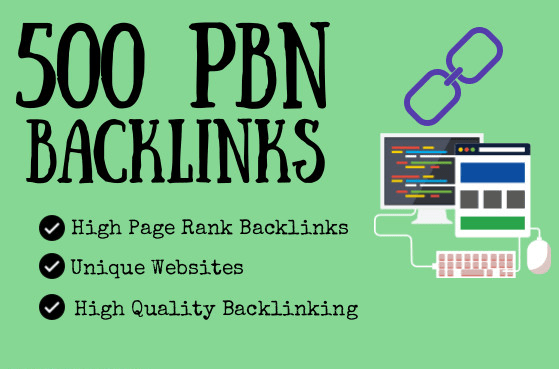 500 pbn backlinks tier 1 and tier 2