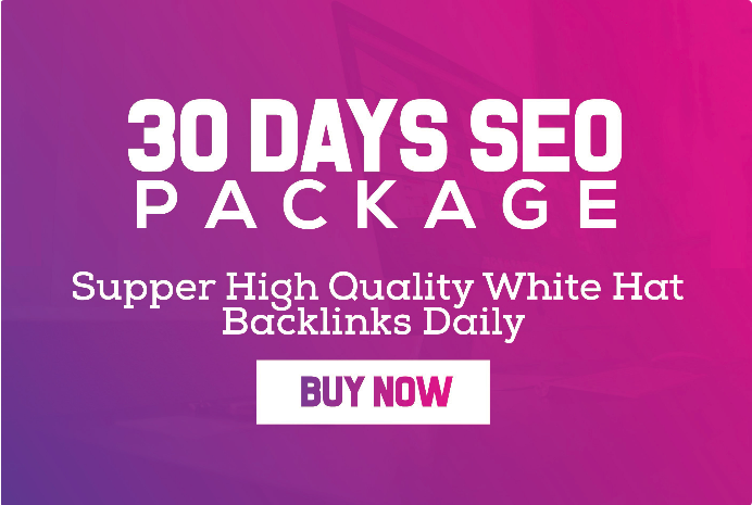 30 Days Link building daily White Hat SEO Package 2019 with PBN web.2.0 business and more