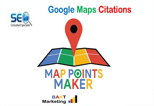 I will google maps citations for gmb ranking and local SEO