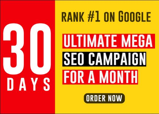 Create A Full SEO and Digital Marketing Campaign For Your Website