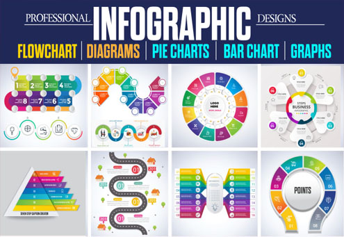 I will design pro and creative infographics