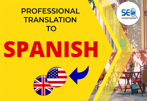 professionally translate your texts from English to Spanish