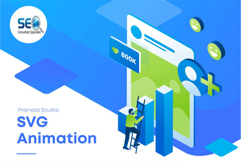 Create incredible GIF SVG animation for website or app