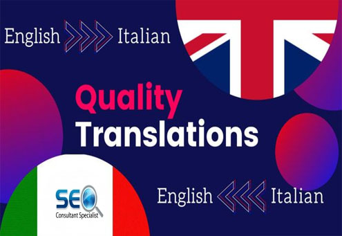 I will flawlessly translate English to Italian