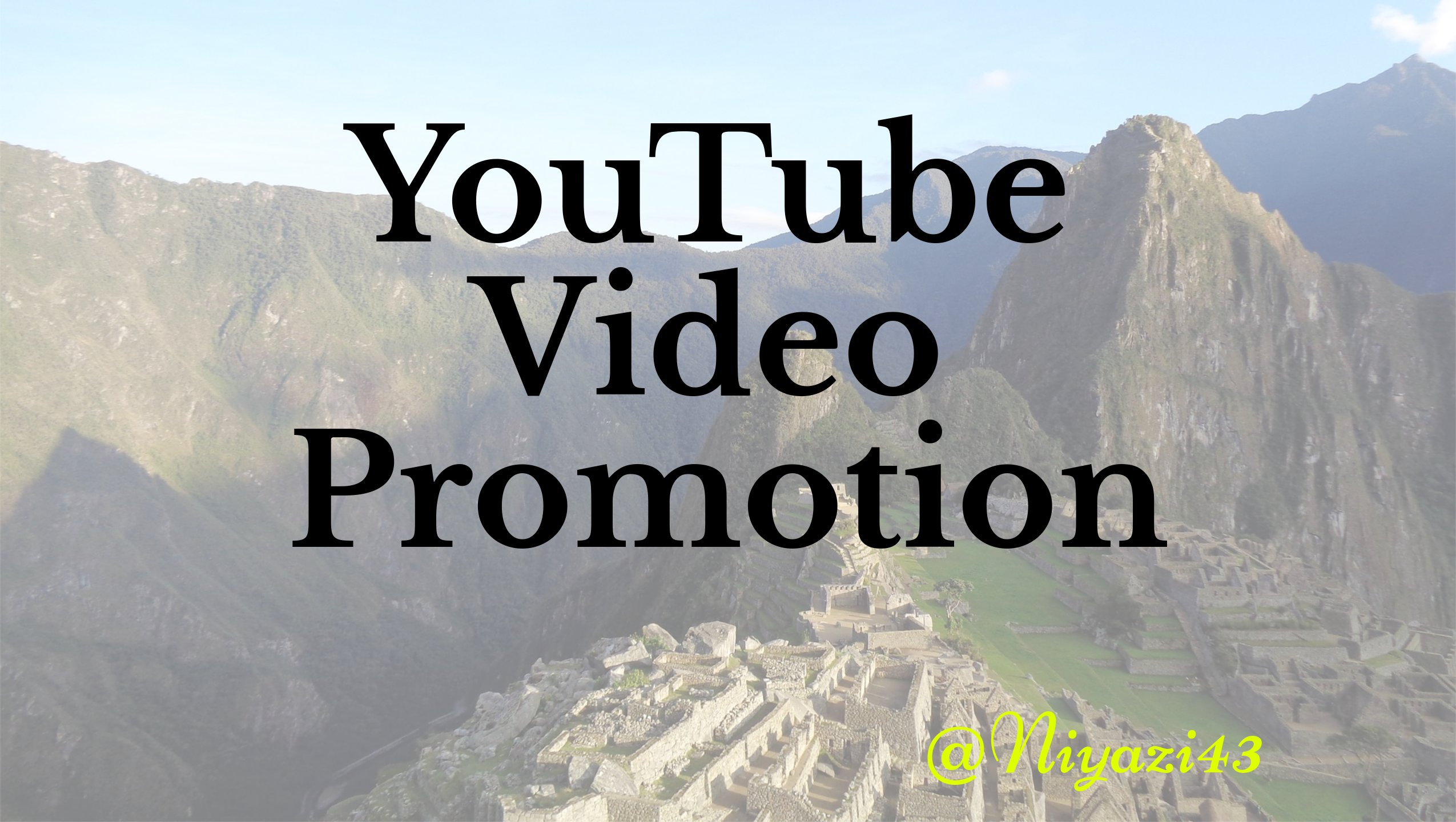 Help You Grow and promote Your YouTube Video