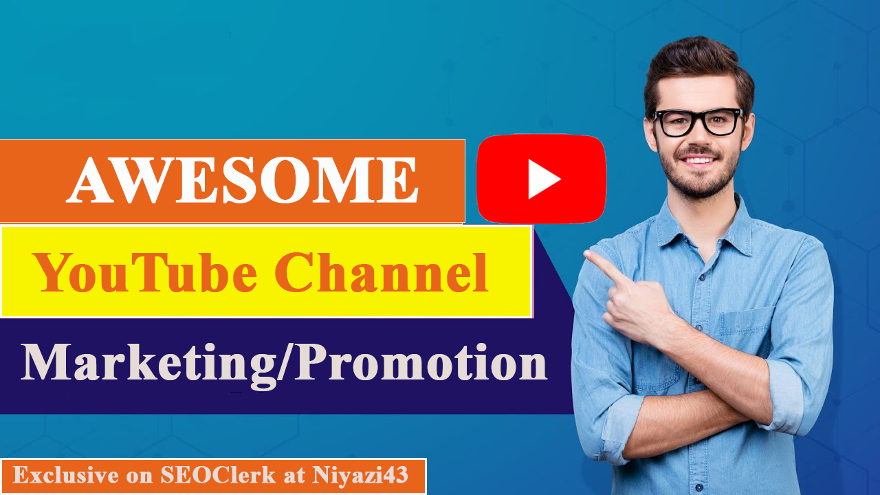 AMAZING YOYTUBE CHANEL PROMOTION WITH ACTIVE AND REAL USER