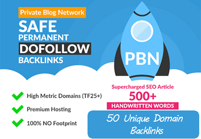 Create 50 PBN Blogpost Backlinks Niche Relavent Content with Homepage