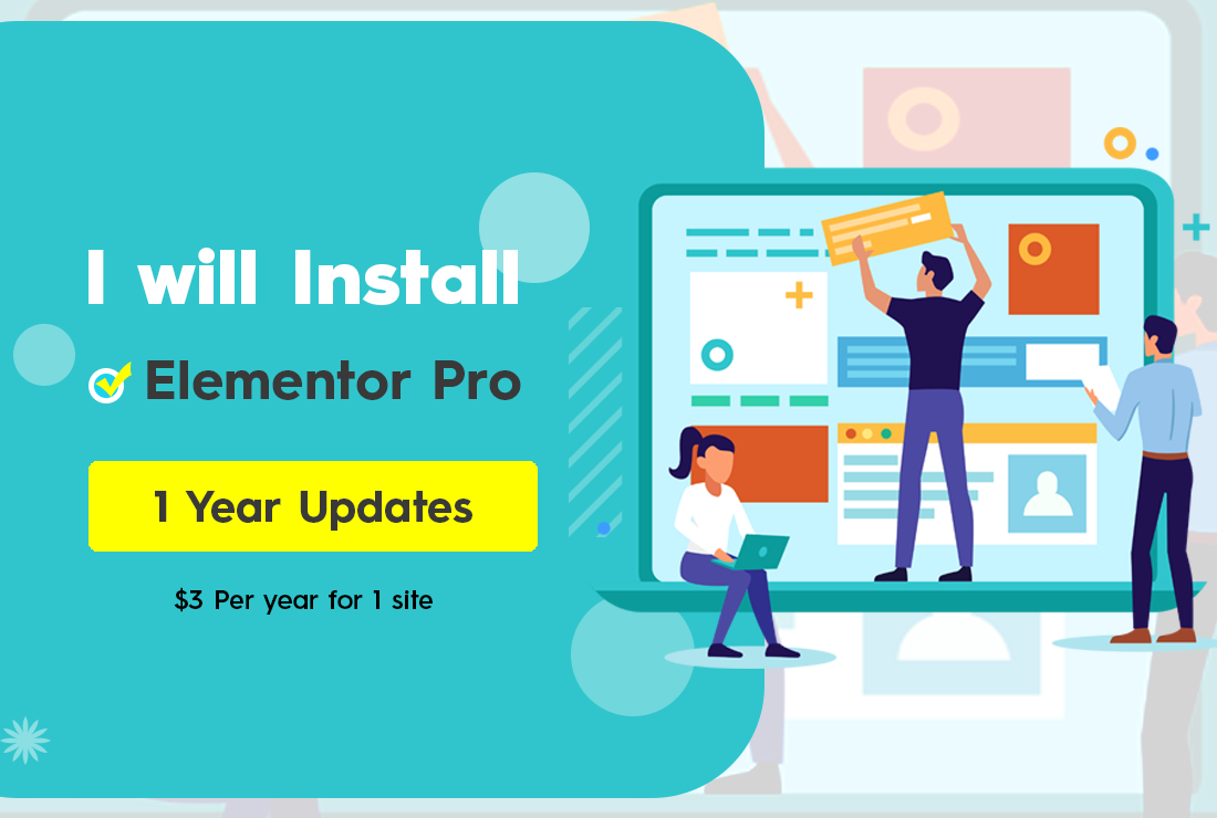 Install Elementor pro and Ultimate Addons for Elementor on your Wordpress site with Official License