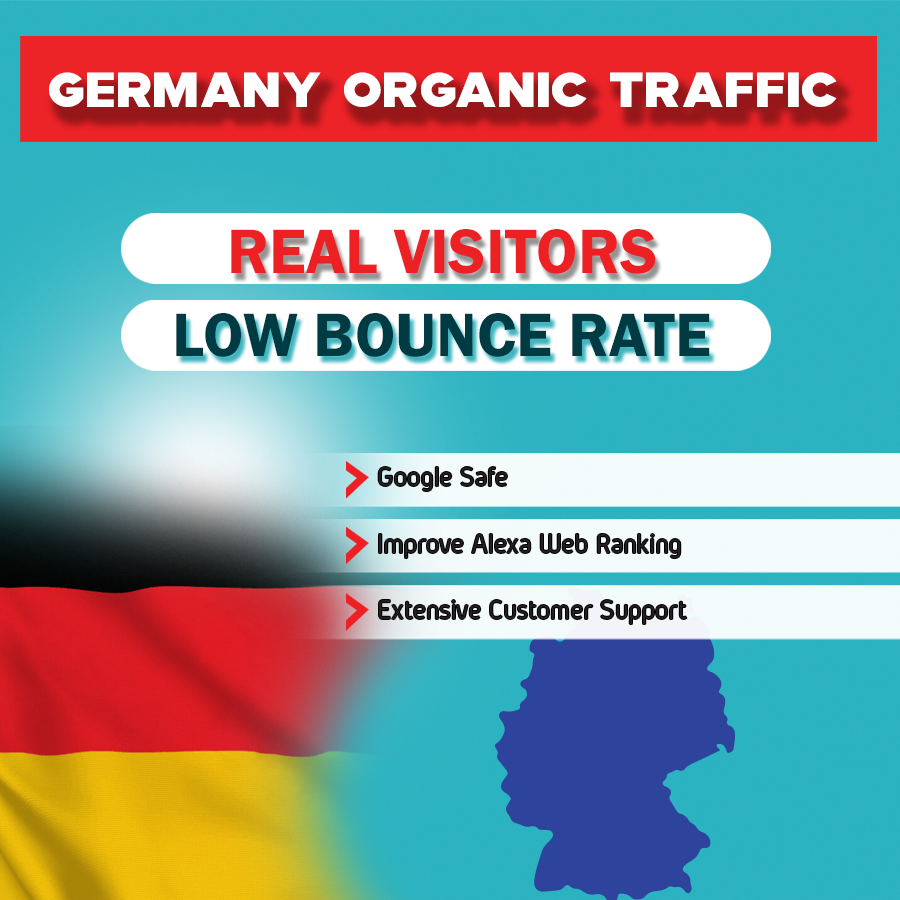 Germany Targeted Traffic To your Website or Blogsite