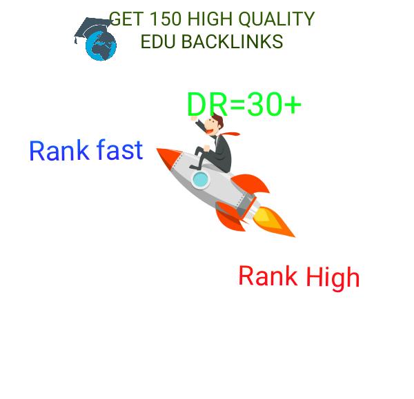 Get 150 High Quality Edu Backlinks For Your Site