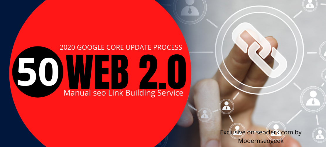 I will do permanent web 2.0 contextual seo backlinks,  manual link building work