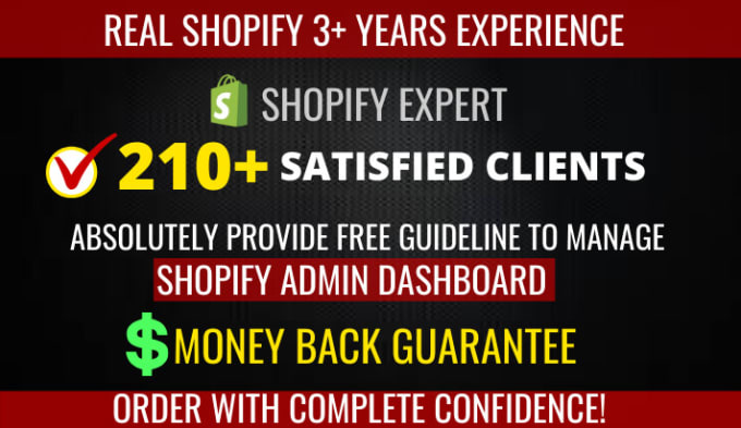 I will create high converting shopify dropshipping store