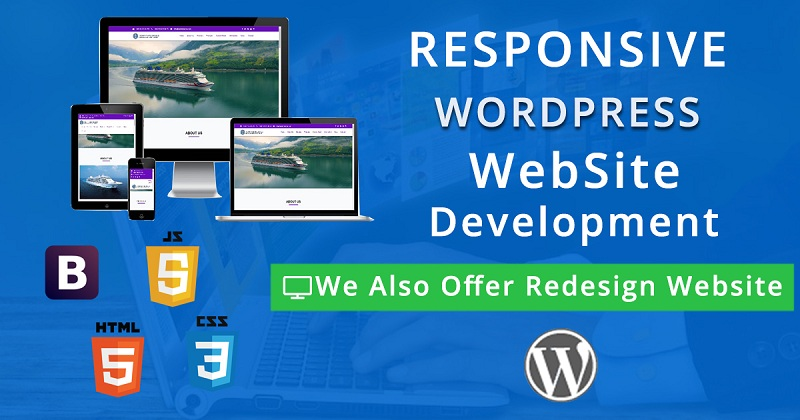 Create responsive WordPress website design and development