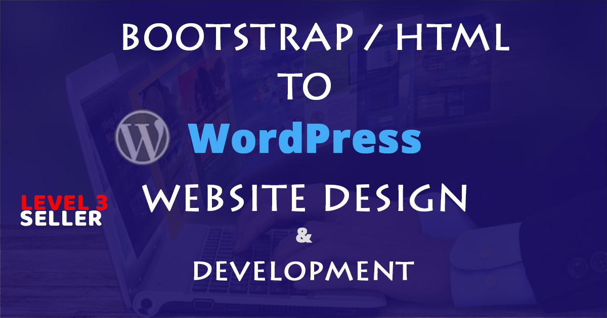 Create SEO friendly WordPress website design and development