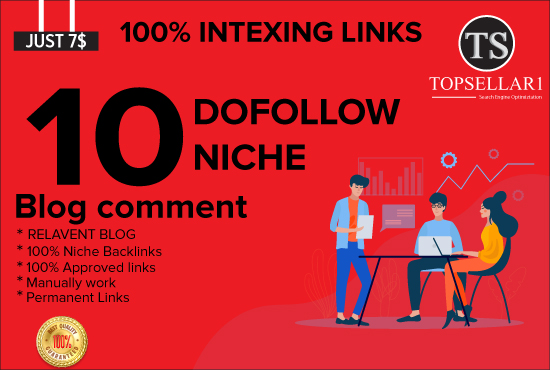Build 10 dofollow niche relevant themed manual blog comments