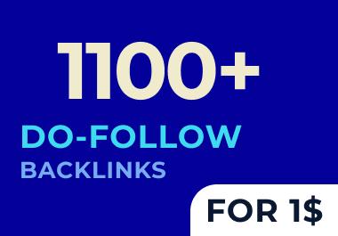 Create 1100 Do Follow web 2.0 HQ backlinks